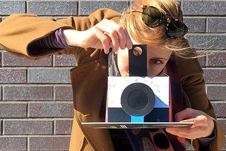 Make a Functional Camera Pop-Up Book